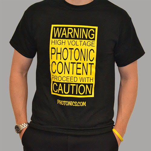 Photonics Caution T-Shirt