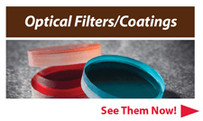 optical filters and coatings from Optometrics