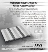 Multispectral Optical Filter Assemblies