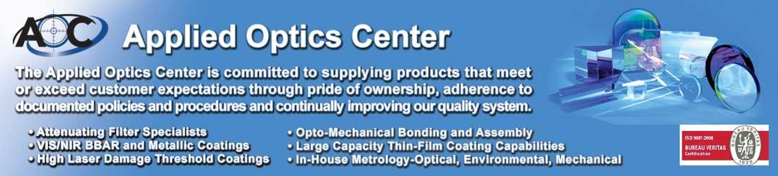 Applied Optics Center (AOC), Div. of Optex Systems Inc.